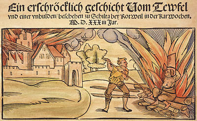 Witch Burning, 1533 Poster