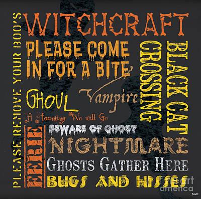 Witchcraft Poster by Debbie DeWitt