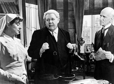 Witness For The Prosecution, From Left Poster by Everett