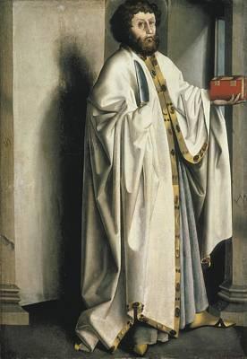 Witz, Konrad 1400-1445. Saint Poster