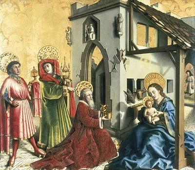Witz, Konrad 1400-1445. The Adoration Poster