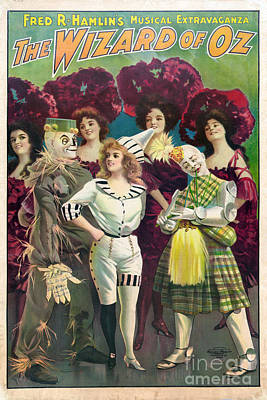 Wizard Of Oz, 1903 Poster