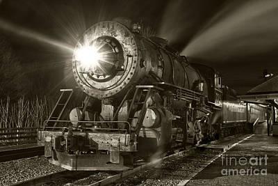 Wmsr Engine 734 At The Frostburg Depot Poster
