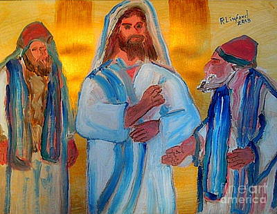 Woe Unto Ye Scribes And Pharisees Hypocrites 1 Poster