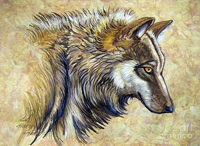 Wolf Natural Beauty Poster