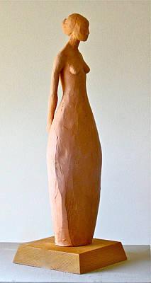 Woman Poster by Deborah Dendler