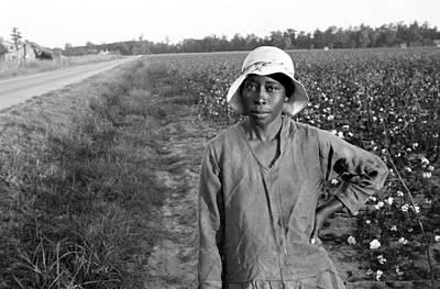 Woman In Field, 1935 Poster by Granger