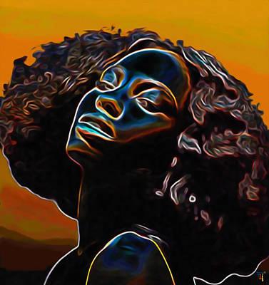Womans Essence II              Poster by  Fli Art
