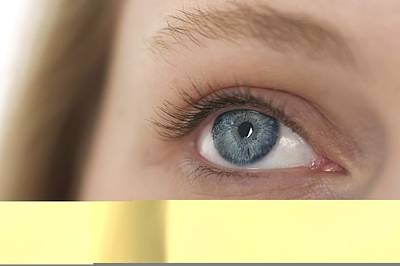 Woman's Eye Poster by Science Photo Library