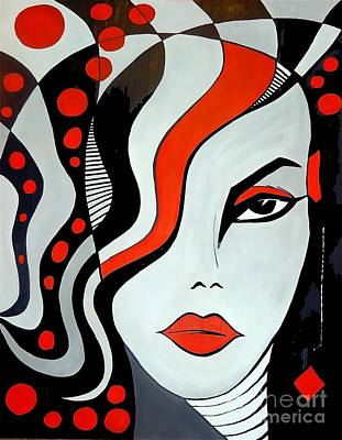 Women 452-09-13 Marucii Poster