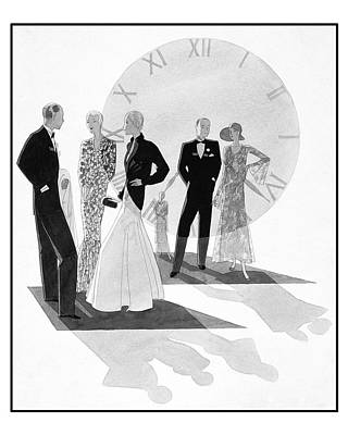 Women Wearing Chanel Poster by Jean Pages