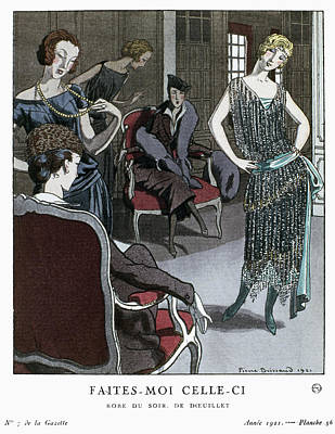 Women's Fashion, 1921 Poster by Granger