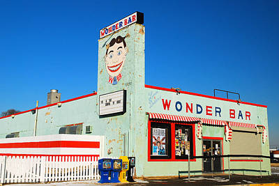 Wonder Bar Asbury Park Poster by James Kirkikis
