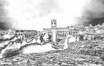 Niagara Falls Wonder Of The World Poster