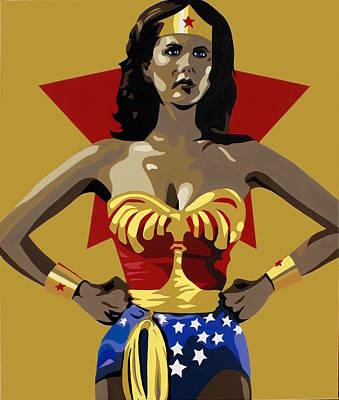 Wonder Woman Poster by Ian  King