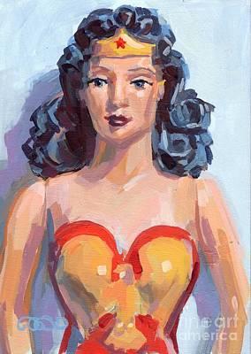 Wonder Woman Poster by Kimberly Santini