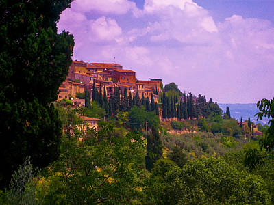 Wonderful Tuscany Poster