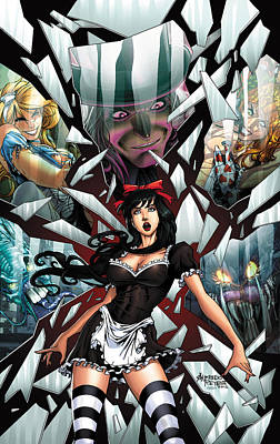 Wonderland 02c Poster by Zenescope Entertainment