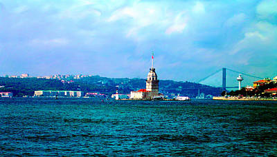 Poster featuring the photograph Wonders Of Istanbul by Zafer Gurel