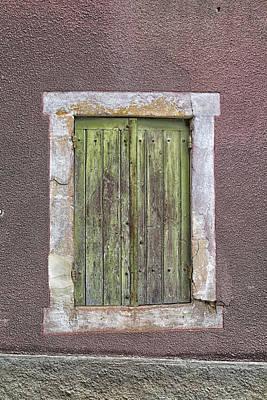 Wonky Window Poster