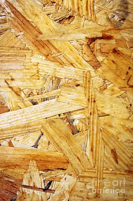 Wood Splinters Background Poster
