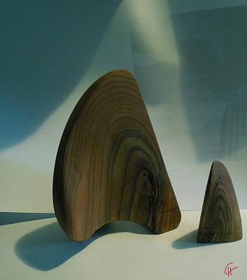 Wood Zen Harmony Poster