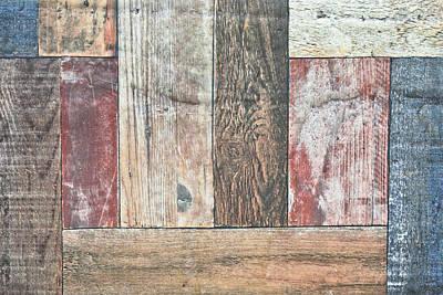 Wooden Floor Poster