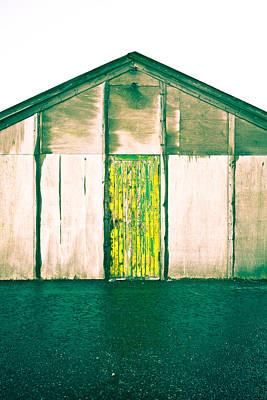Wooden Hut Poster