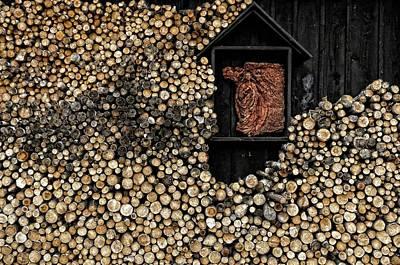 Wooden Madonna Poster