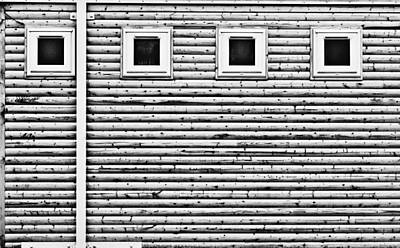 Wooden Wall Poster by Tom Gowanlock