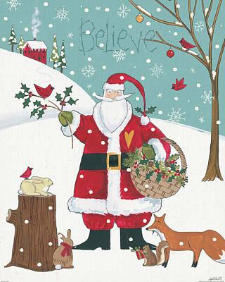 Woodland Christmas Viii Poster