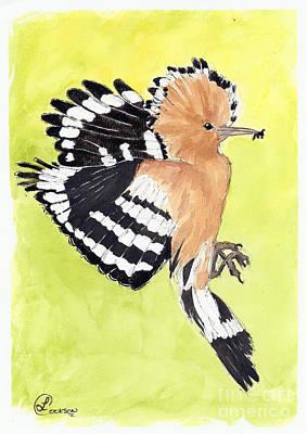 Woodpecker Poster by Lynda Cookson