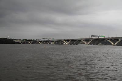 Woodrow Wilson Bridge - Washington Dc - 01131 Poster by DC Photographer