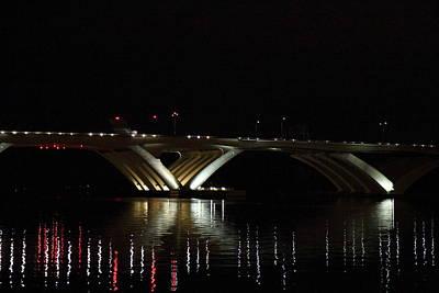 Woodrow Wilson Bridge - Washington Dc - 011348 Poster by DC Photographer