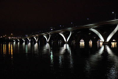 Woodrow Wilson Bridge - Washington Dc - 011355 Poster by DC Photographer
