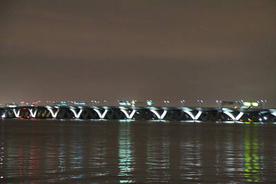 Woodrow Wilson Bridge - Washington Dc - 01137 Poster