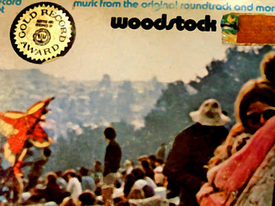 Woodstock Cover 1 Poster by Marcello Cicchini