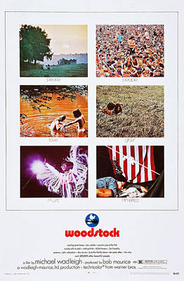Woodstock, Us Poster Art, 1970 Poster