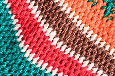 Wool Knitwear Poster by Tom Gowanlock