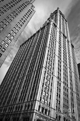 Woolworth Building Poster by Delphimages Photo Creations