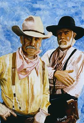 Working Lonesome Dove Poster