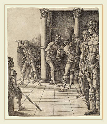 Workshop Of Andrea Mantegna Or Attributed To Zoan Andrea Poster by Litz Collection