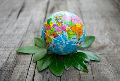 World Environment Concept Poster