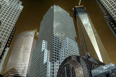 World Financial Centre 3 Poster by Rob Hawkins