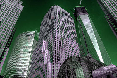World Financial Centre 4 Poster by Rob Hawkins