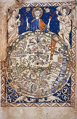World Map, 13th Century Poster