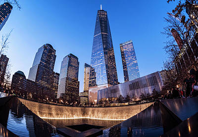 World Trade Center Memorial Poster