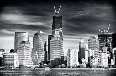 World Trade Center Rebirth Poster by John Rizzuto