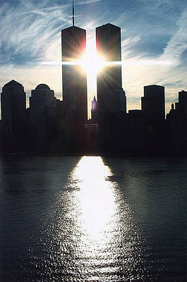 World Trade Center Towers Poster