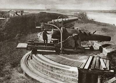 World War I Artillery Poster